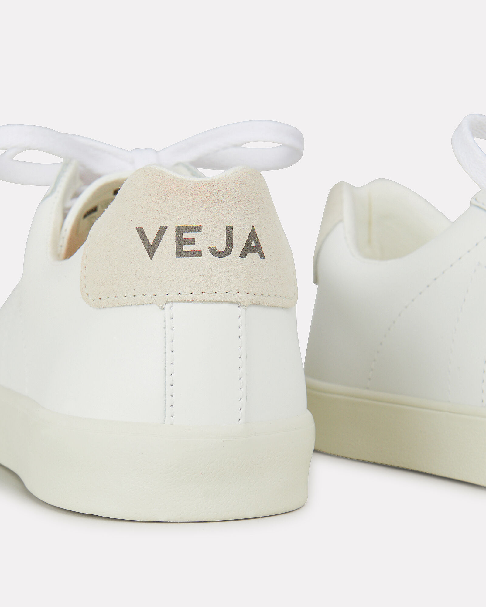 Esplar White Low-Top Sneakers, WHITE, hi-res