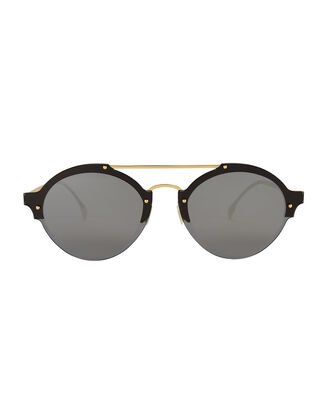Malpensa Gold Stud Sunglasses, METALLIC, hi-res