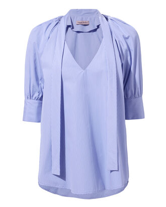 You Lift Me Up Blouse, BLUE, hi-res