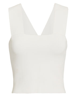 Lia Tank Top, WHITE, hi-res