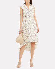 Kiara Floral Midi Dress, IVORY/FLORAL, hi-res