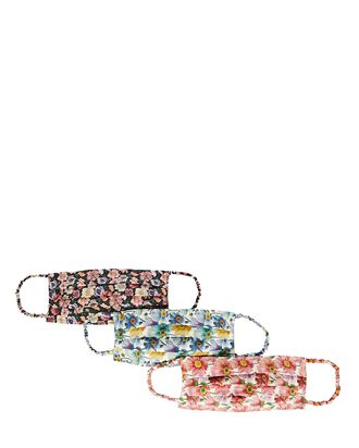 Leslie Liberty Floral Face Mask 3-Pack, MULTI, hi-res