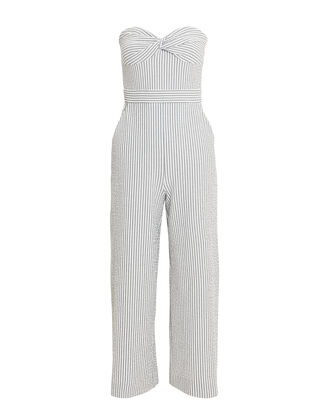 Serild Seersucker Jumpsuit, GREY/WHITE, hi-res