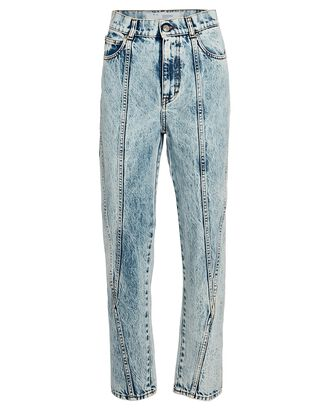 Celsian Cropped Acid Wash Jeans, ACID WASH DENIM, hi-res