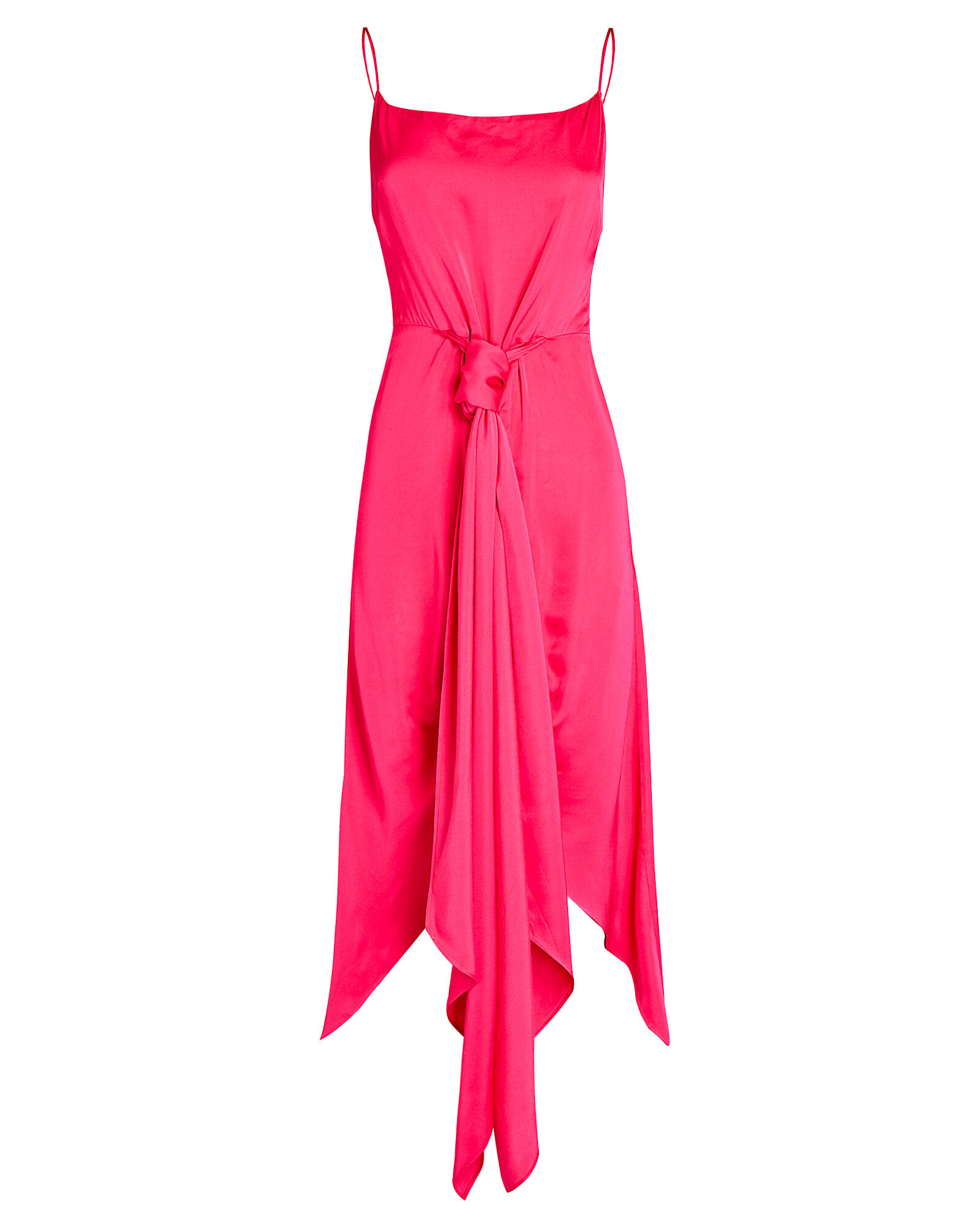 Natasha High-Low Sarong Dress, PINK, hi-res