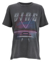 Viper Black T-Shirt, BLACK, hi-res