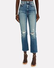 The High-Waisted Rider Ankle Jeans, DENIM, hi-res