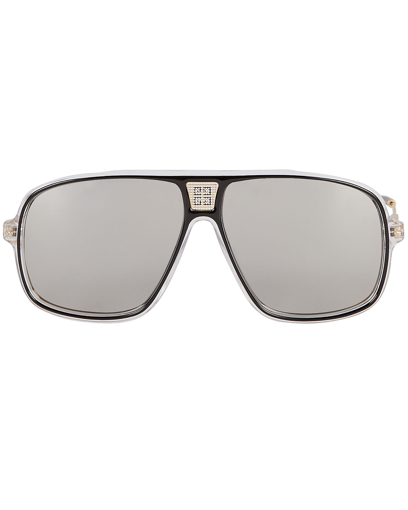 Oversized Pilot Sunglasses, BLACK, hi-res