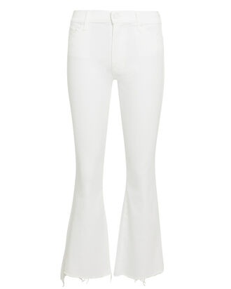 Crop Step Fray Jeans, WHITE DENIM, hi-res