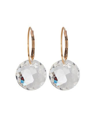 Gem Drop Earrings, CLEAR, hi-res