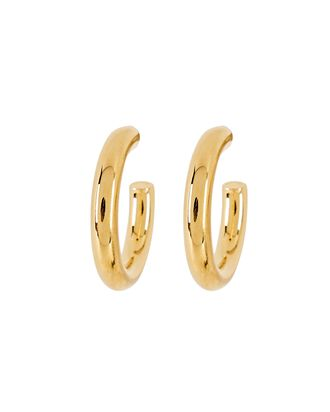 Dylan Hoop Earrings, GOLD, hi-res