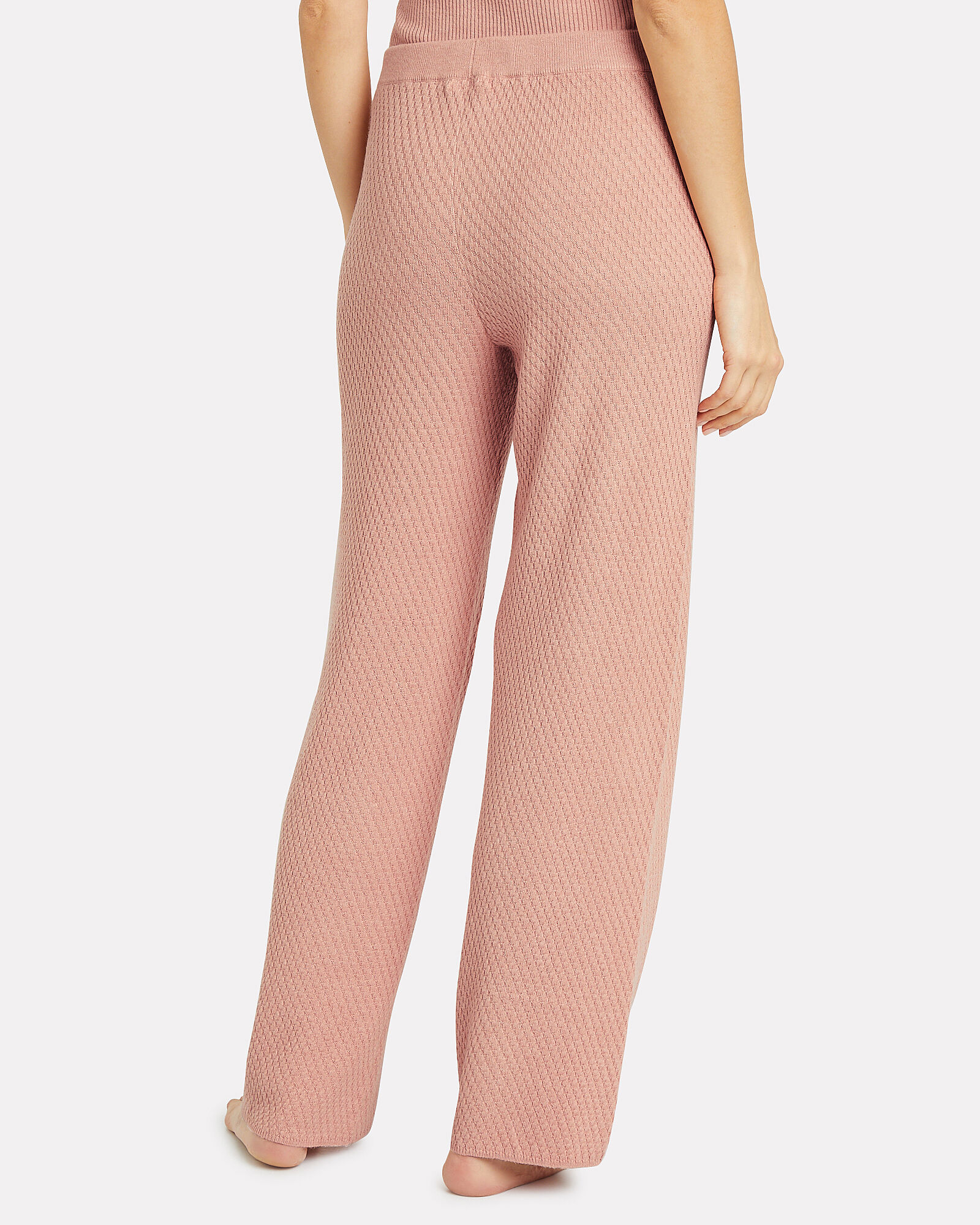 Kamala Knit Lounge Pants, TAN, hi-res