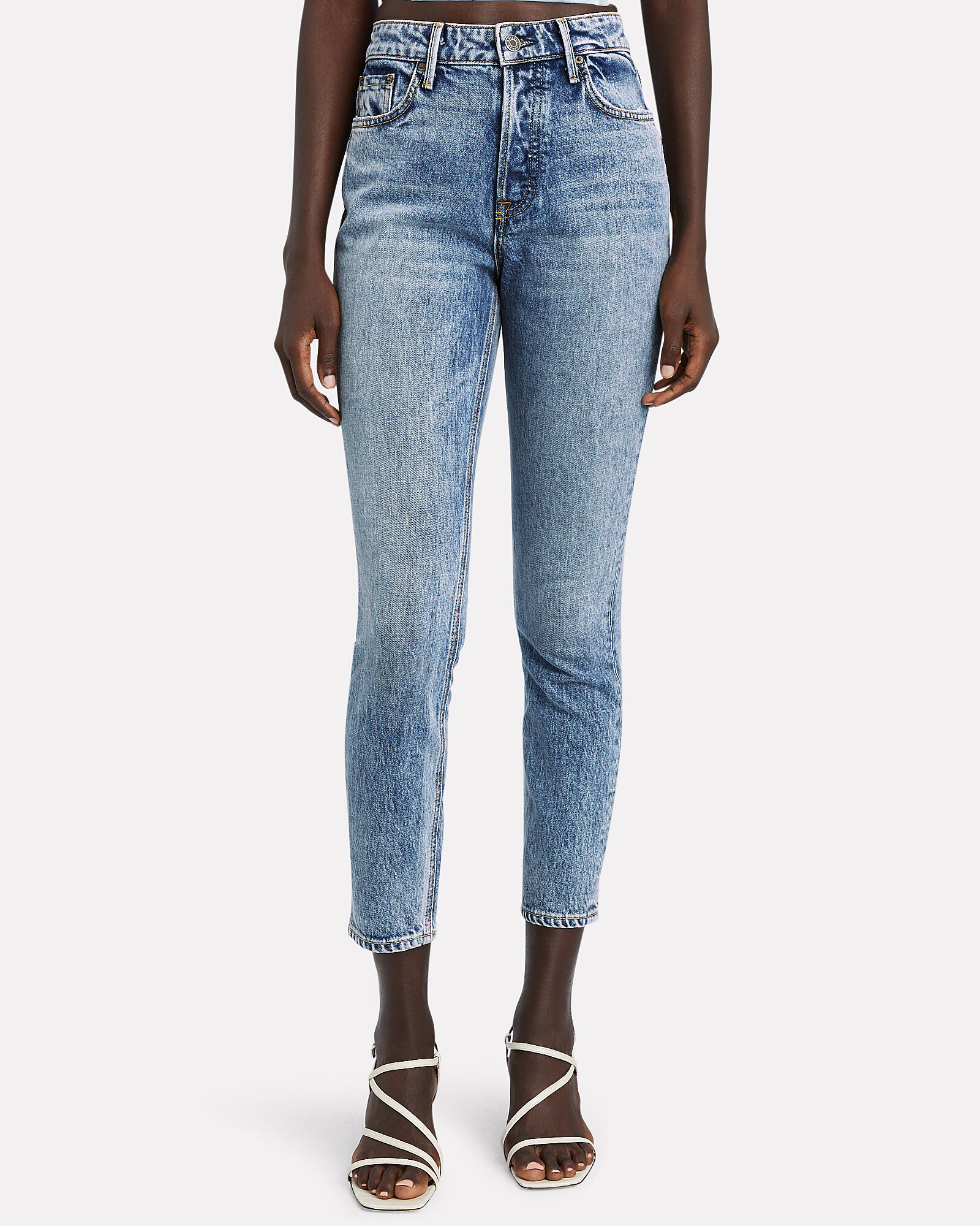 Karolina High-Rise Skinny Jeans, DENIM, hi-res
