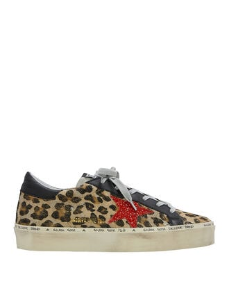Hi Star Leopard Low Top Sneakers, BROWN, hi-res