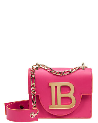 BBag 18 Leather Crossbody, FUSCHIA, hi-res