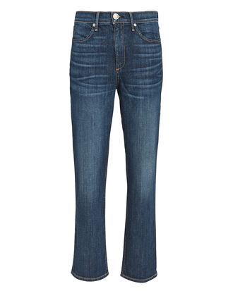 High-Rise Ankle Cigarette Jeans, DENIM-DRK, hi-res