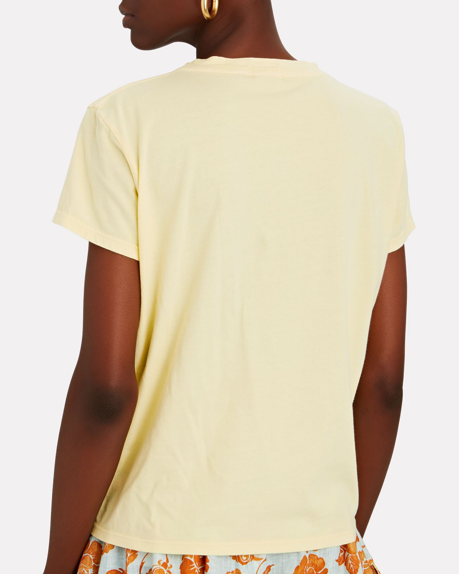 The Boxy Goodie Goodie T-Shirt, YELLOW, hi-res
