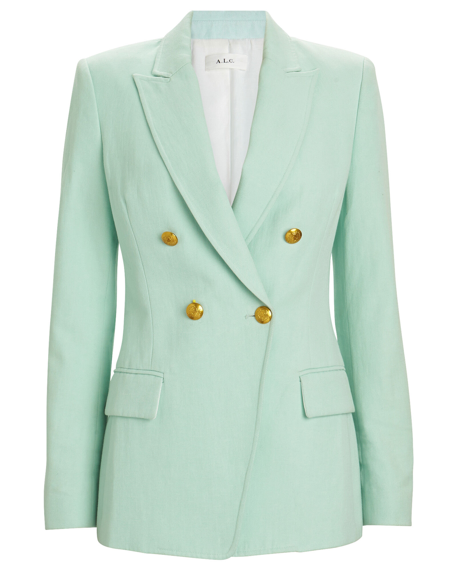 Sedgwick Double-Breasted Blazer, GREEN-LT, hi-res