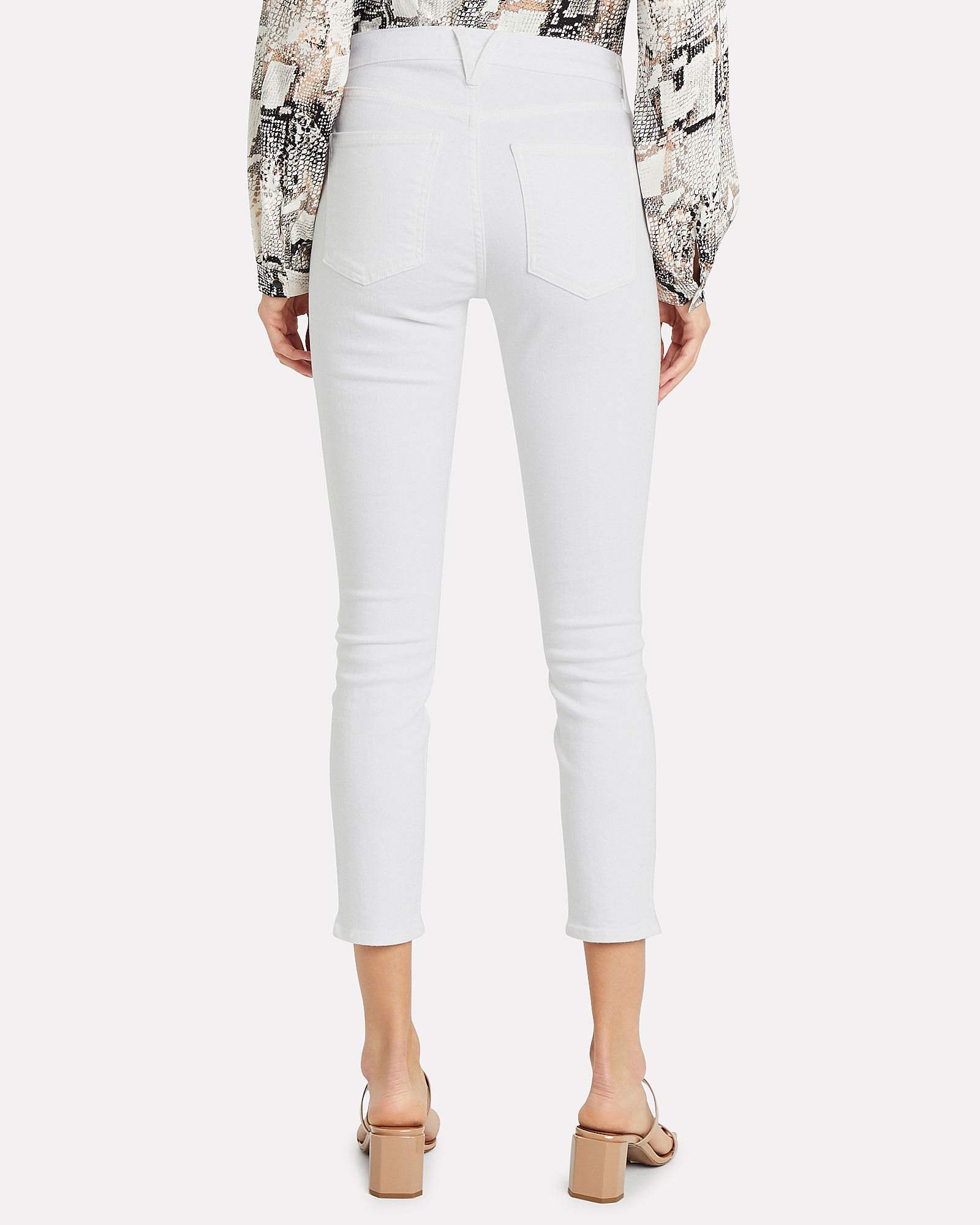 Debbie High-Rise Skinny Jeans, WHITE DENIM, hi-res