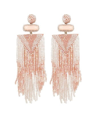 Deepa by Deepa Gurnani Jody Fringe Earrings, BLUSH, hi-res