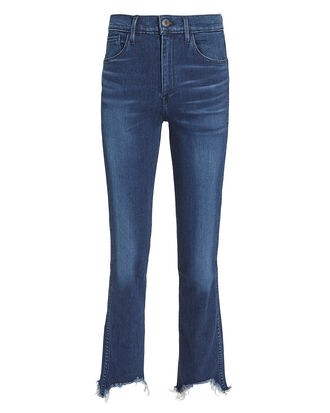 W3 Straight Authentic Cropped  Eleta Jeans, DENIM-DRK, hi-res