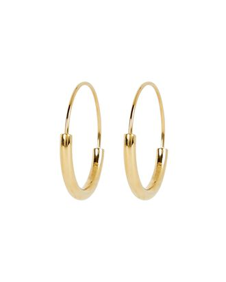 Serendipity 22 Hoop Earrings, GOLD, hi-res