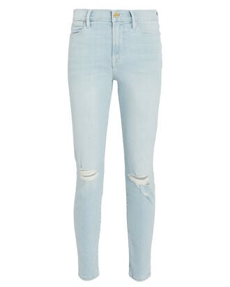 Le High Skinny Jeans, LIGHT WASH DENIM, hi-res
