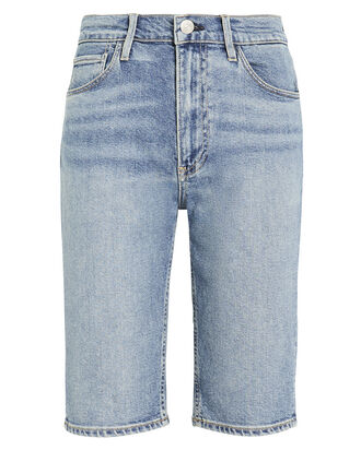 Paros Long Denim Shorts, LIGHT WASH DENIM, hi-res