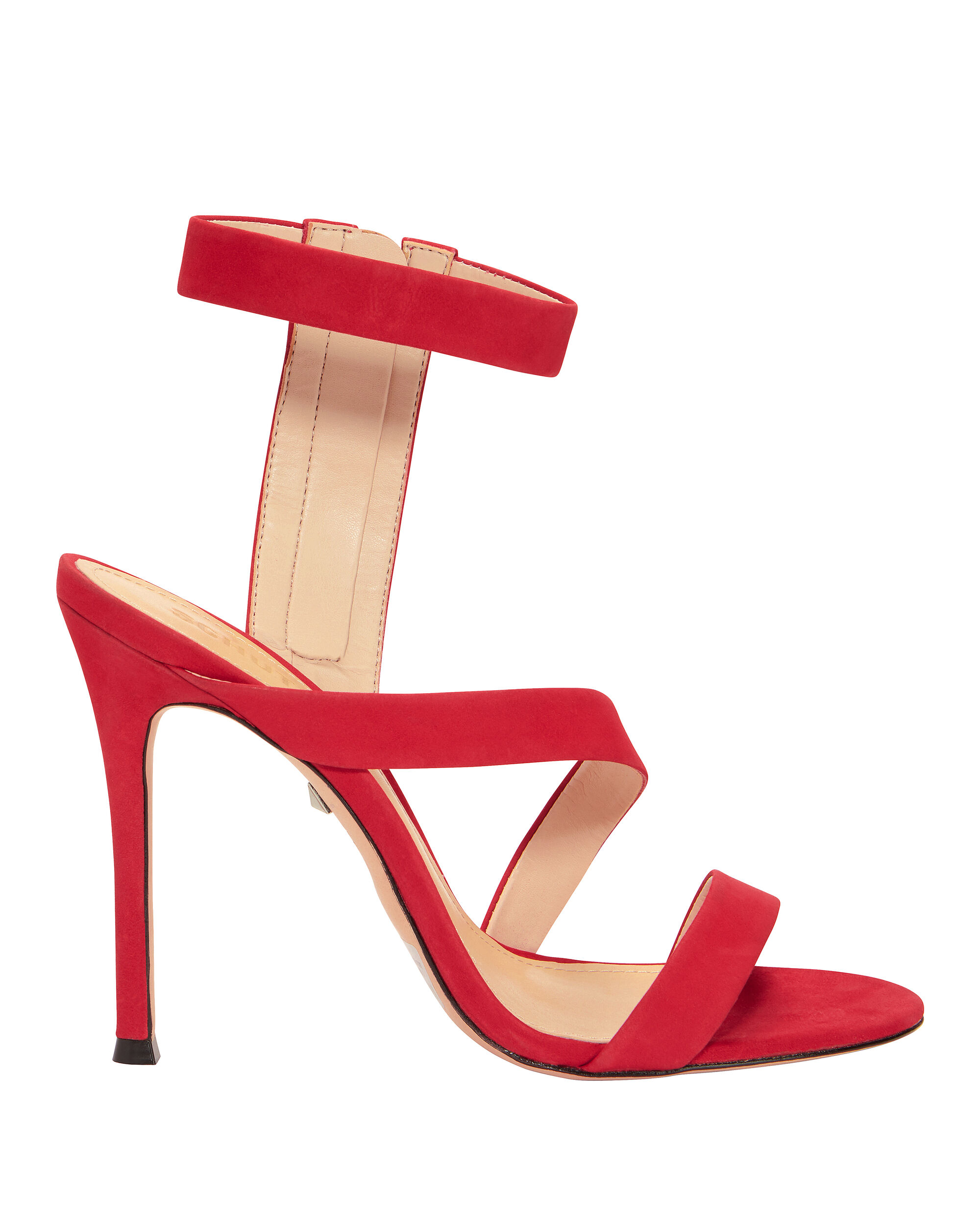 Lauanne Strappy Red Sandals, RED, hi-res