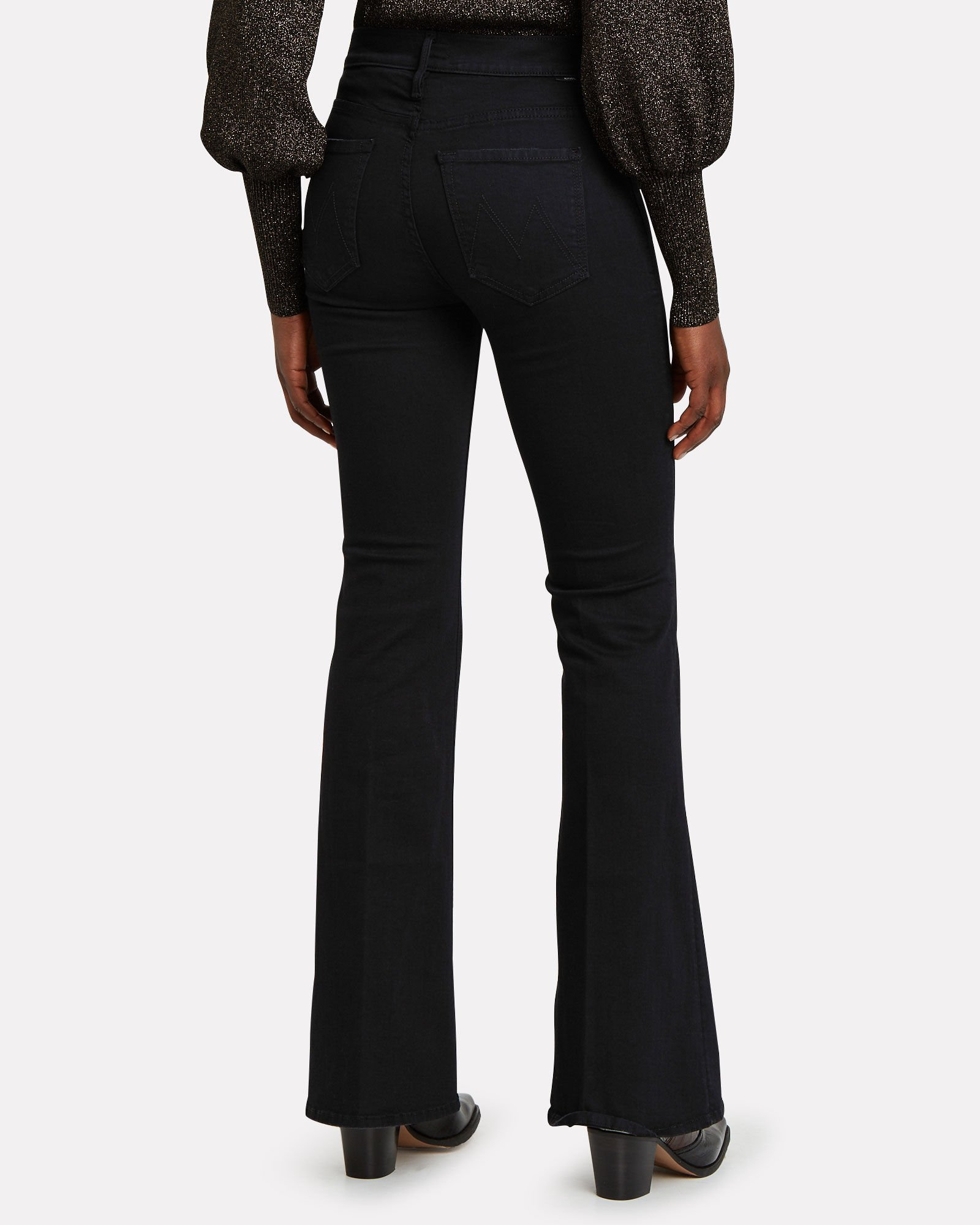 The Doozy Flared Jeans, BLACK, hi-res