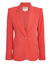 Chamberlain Suiting Blazer, RED, hi-res