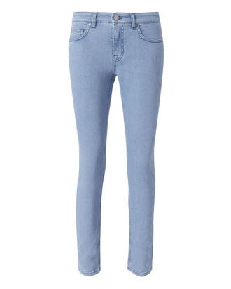 Ankle Slim Denim Pants, DENIM, hi-res
