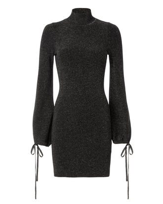 Shira Sweater Dress, BLACK, hi-res