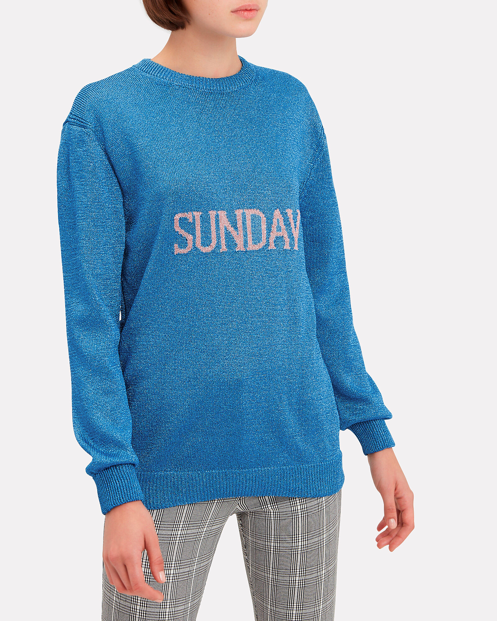 Sunday Sweater, BLUE-MED, hi-res