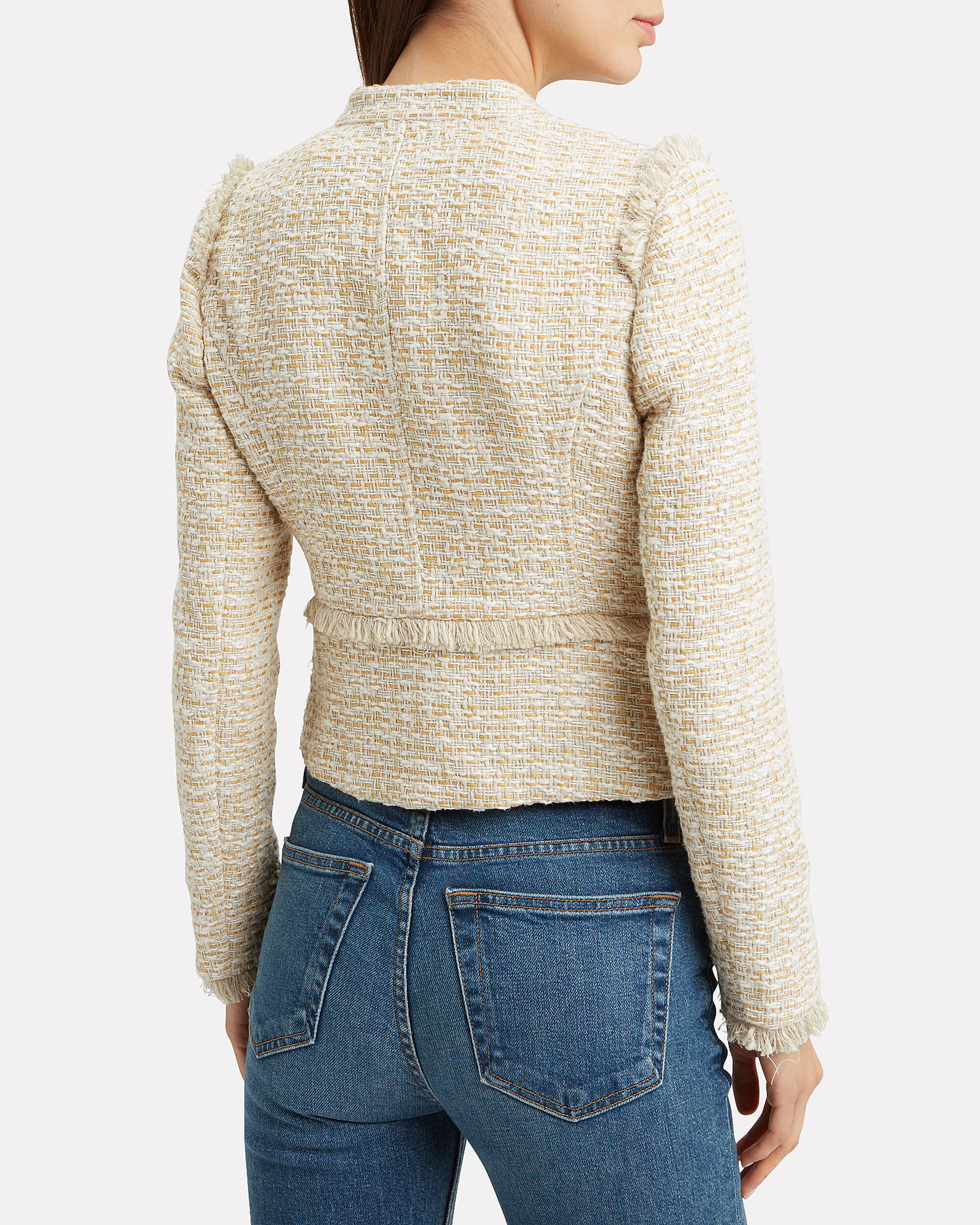 Mona Knit Jacket, BEIGE, hi-res