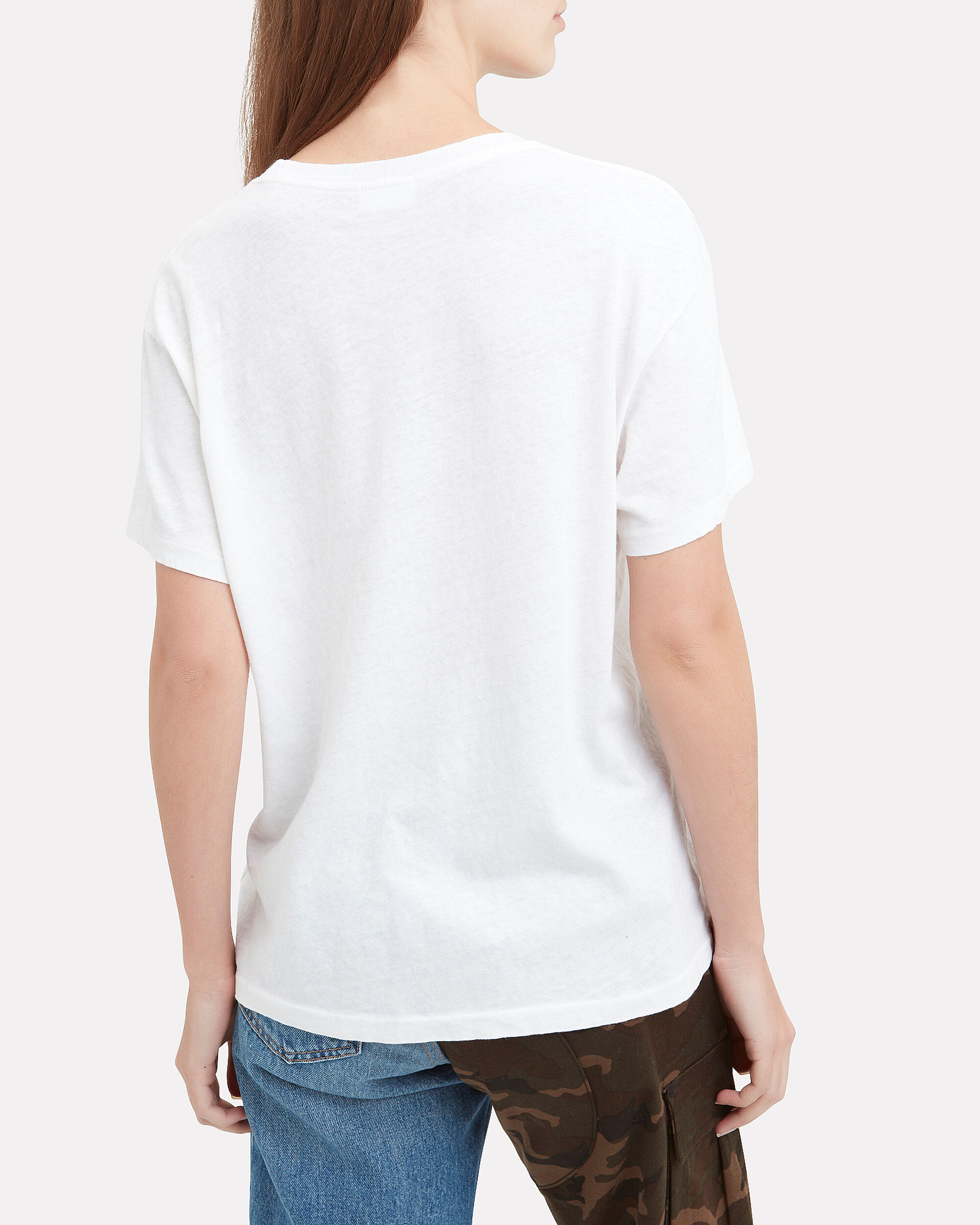 Not Yours Graphic Tee, WHITE, hi-res