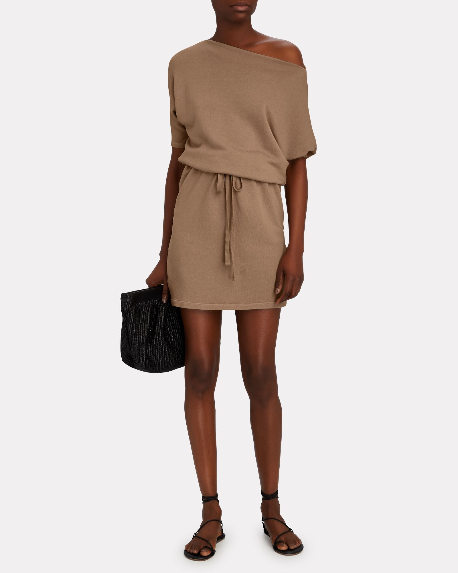 Slouch Terry Mini Dress, , hi-res