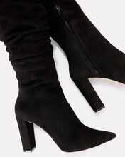 Kendal Slouchy Suede Boots, BLACK, hi-res