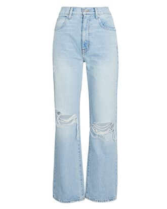 London Distressed Ankle Jeans, HEARTBREAK HOTEL, hi-res