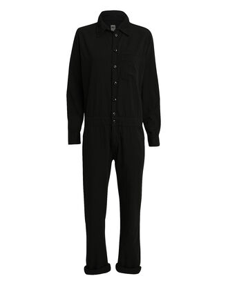 Mechanic Jumpsuit, BLACK, hi-res