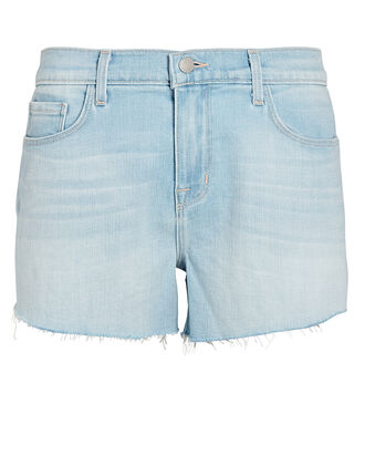 Audrey Cut-Off Denim Shorts, DENIM-LT, hi-res