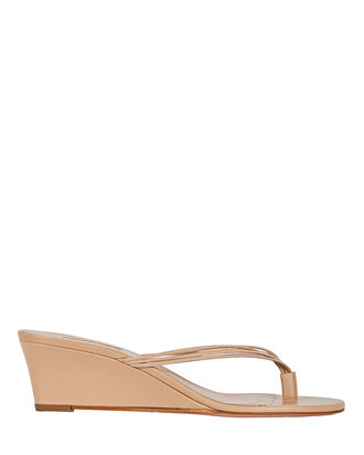 Pedi 45 Wedge Sandals, BEIGE, hi-res