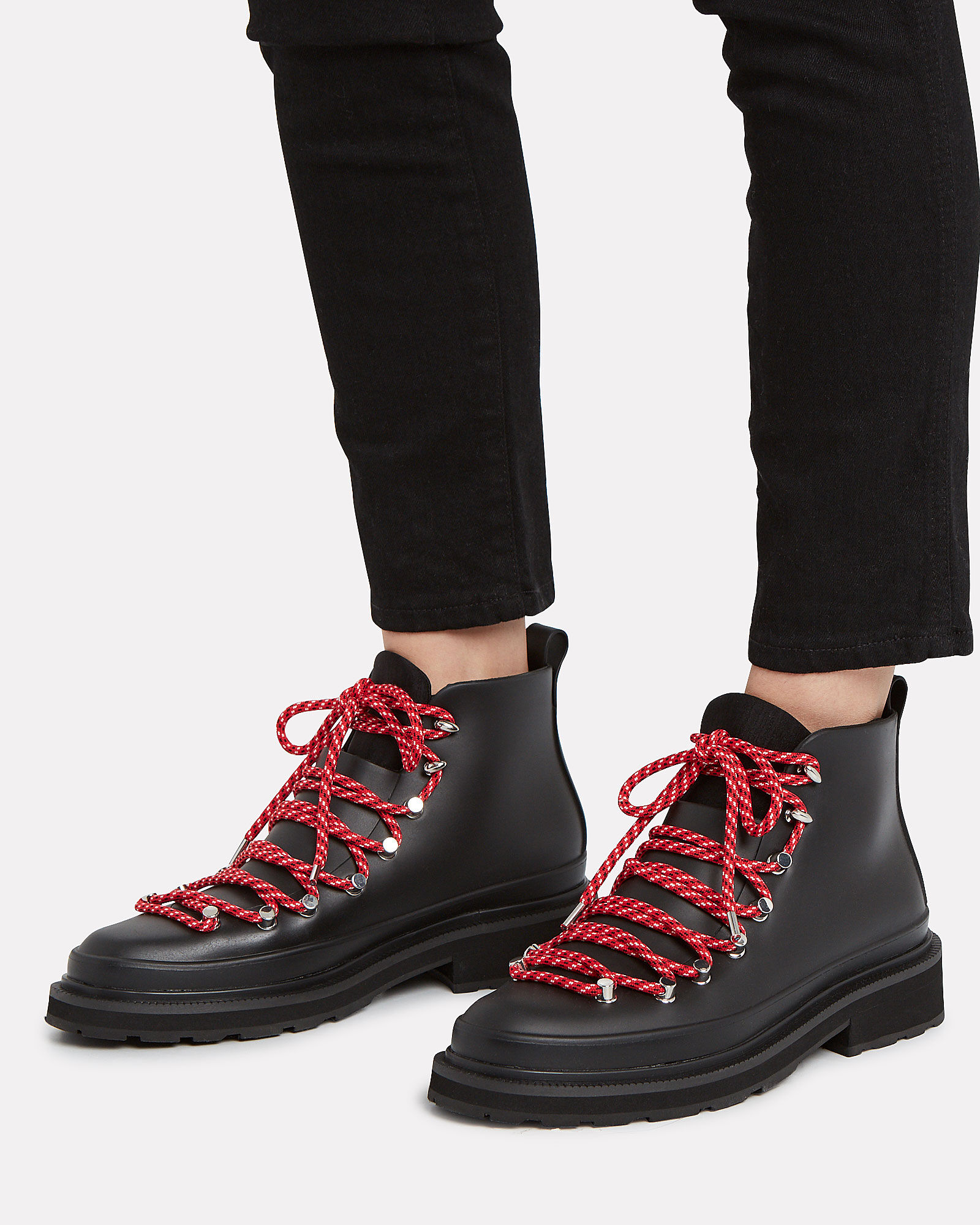 Compass Rubber Hiking Booties, BLACK, hi-res