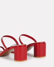Tanya Leather Sandals, RED, hi-res