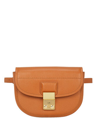 Pashli Mini Saddle Bag, BROWN, hi-res
