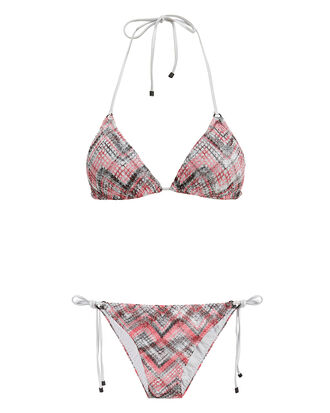 Zig Zag Bikini, BLACK/RED, hi-res