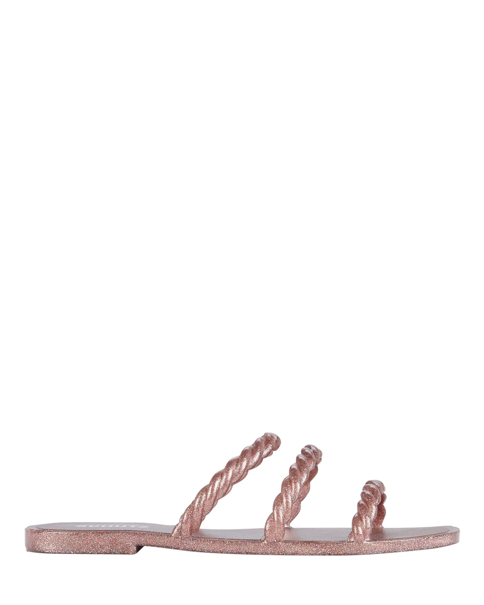 Diana Braided Jelly Sandals, ROSE, hi-res