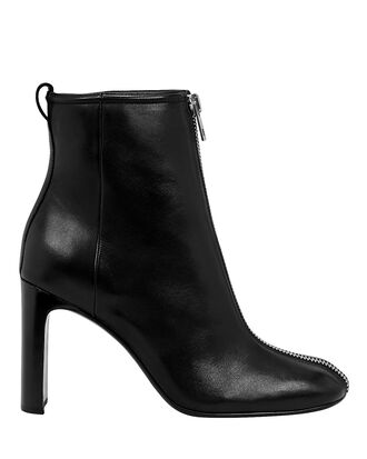 Ellis Zip Detail Boots, BLACK, hi-res