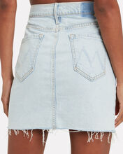 The Sacred Slit Denim Skirt, DENIM-LT, hi-res