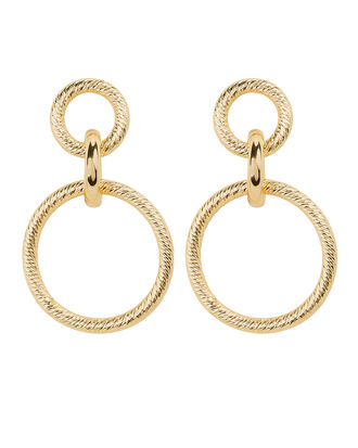 Wes Earrings, GOLD, hi-res